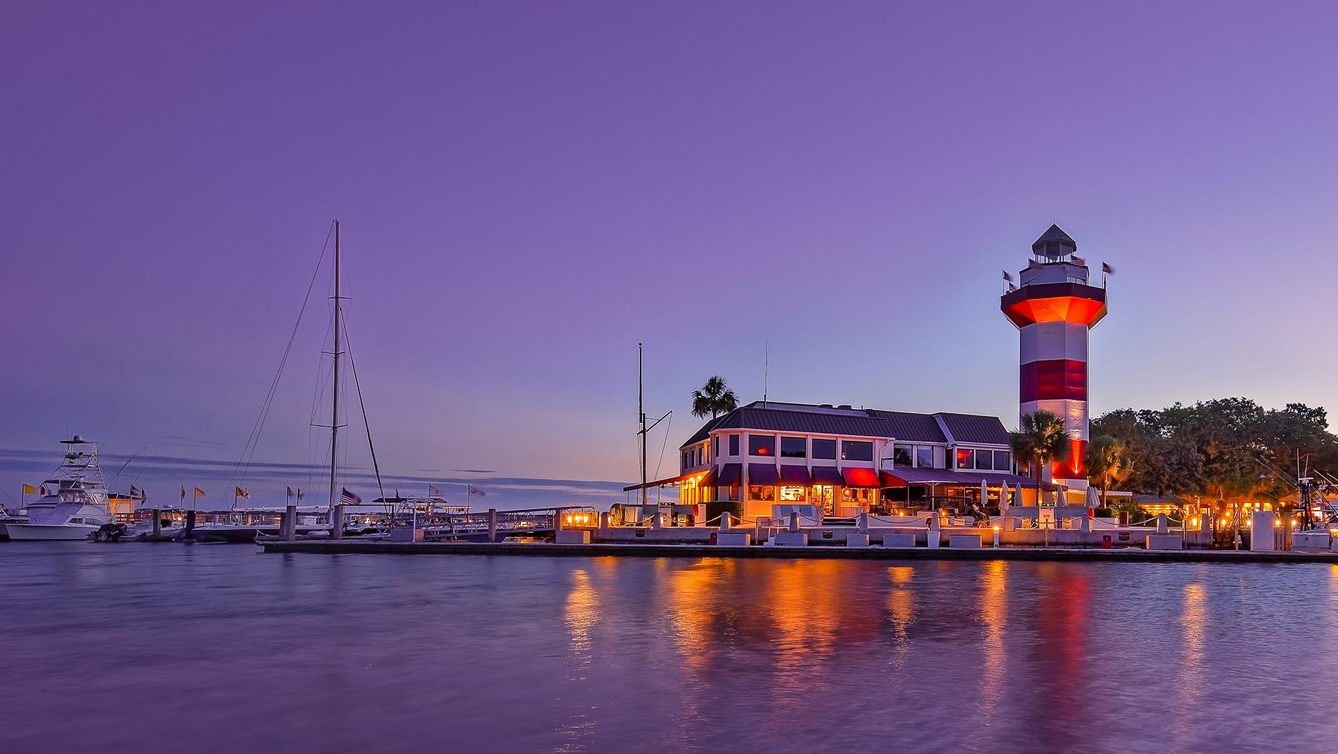 Seapines lighthouse in  Hilton Head