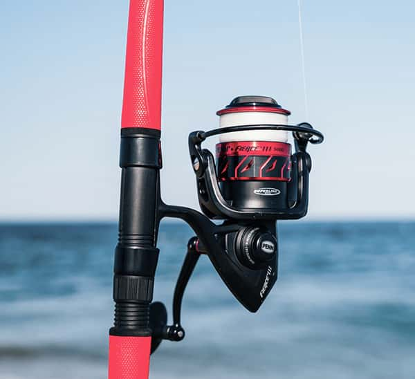 rent fishing rod and reel